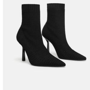 Zara elastic booties